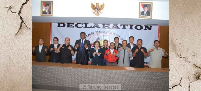 Eight delegates southeast Asian countries have committed to bring Tarung Derajat as a sport that can be officially competed in events at asia