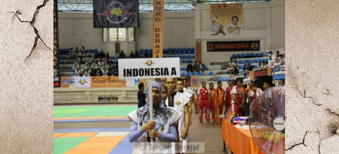 Indonesian contingent was represented by two teams, that team A and team B
