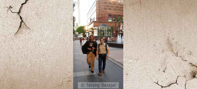 Towards the Fairmont Hotel (June 3, 2015) to monitor SEAGF council meeting about Tarung Derajat Registration in SEAGF Charter & Rules